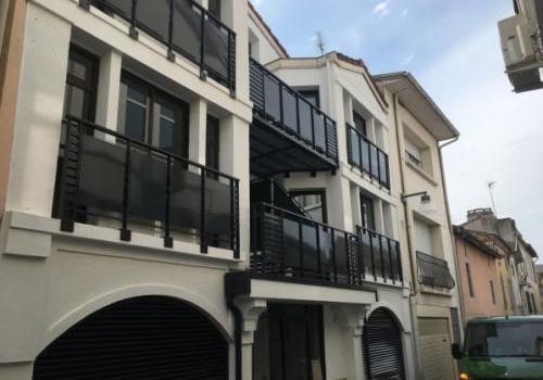Garde corps et balcon