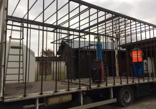 Création carrossage caisse de camion