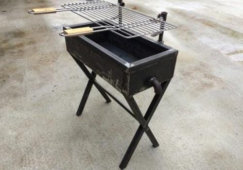barbecue type industriel
