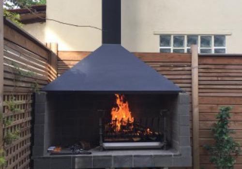 hottes de barbecue sur mesure