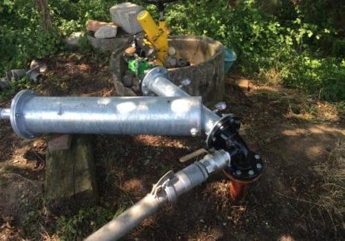 Raccordement irrigation